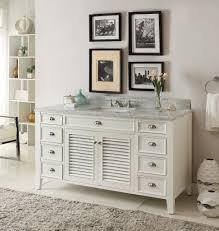 bathroom vanity 60 inch: kalani  inch white bathroom vanity