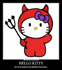HELLO KITTY   Desmotivaciones via Relatably.com