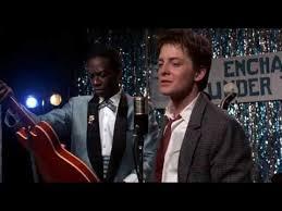 Назад в будущее I. <b>Марти Макфлай</b> отжигает на гитаре - YouTube