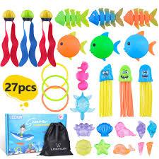 <b>LEEHUR</b> Pool Toys for Kids <b>3</b>-10 Swimming Pool Toys Swim Dive ...