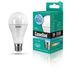 <b>Лампочка Camelion</b> 11W 220V 4500K 880 Lm LED11-A60/845/<b>E27</b>