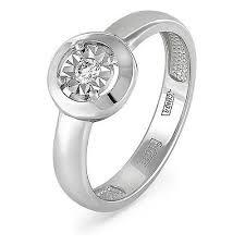 Купить <b>KABAROVSKY Кольцо</b> с 1 бриллиантом из красного ...