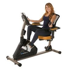 exerpeutic 4000 magnetic recumbent bike with programmable computer and air soft seat bike office chair