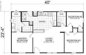 Resultado de imagen para Modern 3 room Housing Plans