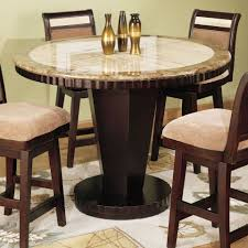 Dining Room Set Counter Height Counter Height Dining Table Round Decordesignshowcom