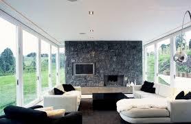 black white furniture living room decorating