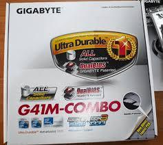 Обзор на <b>Материнская плата GIGABYTE GA-G41M-COMBO</b>