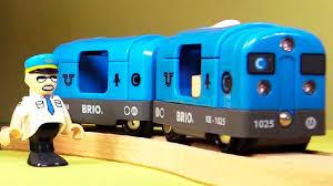 Мультик про поезда - Рабочее утро города Брио - YouTube