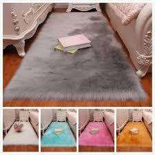 <b>16Color</b> 4Size <b>High Quality</b> Soft Washable Shiny Sheepskin Fur ...