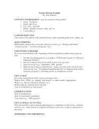 teacher resume examples examples of resumes for teachers english resume example