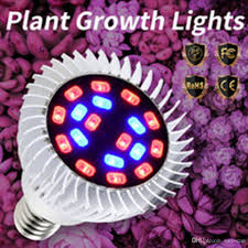 E27 <b>18W 28W</b> 30W 50W 80W <b>Led Grow</b> Light Full Spectrum AC85 ...