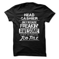 t shirts and hoodies hola tees cashier head cashier t shirts