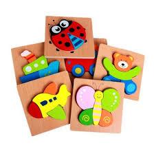 Kids Baby Fun Toy <b>3D Jigsaw Puzzle</b> Cartoon Animal Wooden ...