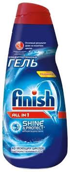 Купить <b>Гель</b> для посудомоечной машины <b>Finish All</b> in 1 <b>гель</b> ...