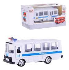 Купить городской транспорт <b>Play Smart</b> Автопарк: ПАЗ - <b>Полиция</b> ...