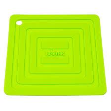 <b>Подставка квадратная</b> Lodge, <b>15 см</b>, зеленая