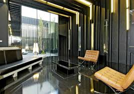 interior ideas fascinating modern industrial design by office fabulous glass sliding wall and door with white architecture home office modern design