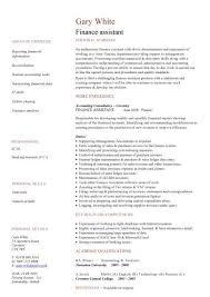 finance assistant cv sample  strong ledger skills  cv writing  job    buy this cv