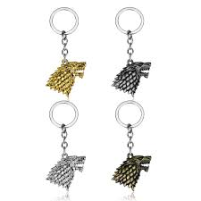 <b>Anime Game Of Thrones</b> Keychain Pendants Figure House Stark ...