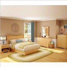 the south shore copley wood panel headboard 4 piece bedroom set bedroom set light wood light