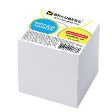 <b>Блок для записей BRAUBERG</b>, непроклеенный, куб 9×9×9 см ...