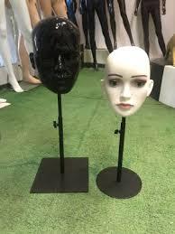 China <b>Customized</b> Plastic <b>Female Mannequin</b> Head <b>Factory</b> and ...