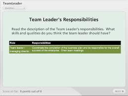 team leader quiz