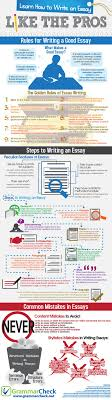 standard essay format bing images essays homeschool how to write an essay like the pros infographic ielts esol