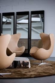 leather egg chairs arne jacobsen style alpha shell egg