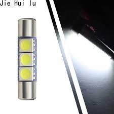 <b>1Pcs Super Bright</b> 31MM 28mm 3 SMD 5050 LED Car Auto C5W ...