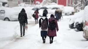 eğitime kar engeli ile ilgili görsel sonucu