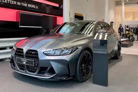 First live photos: <b>BMW M3</b> G80 in Frozen Dark Grey Individual
