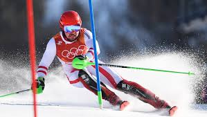 Hirscher overtakes <b>quality</b> field to claim <b>men's</b> Alpine combined <b>gold</b> ...