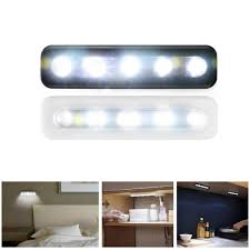 Touch-sensitive Control <b>5Pcs LED</b> Under Cabinet Cupboard Car ...
