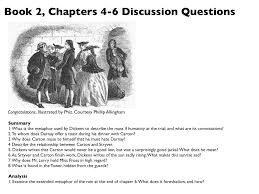 com tale of two cities discussion questions for book 2 chapters 4 6