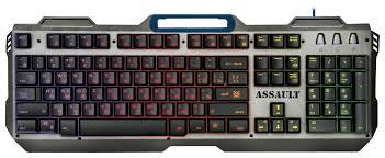 Игровая <b>клавиатура Defender Assault GK-350L</b> RU — купить по ...