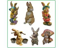 Купить недорого <b>садовые фигуры</b> Зайцы и кролики. <b>Фигуры</b> для ...