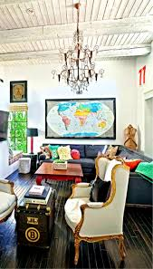living room ideas eclectic console