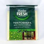 <b>Салфетка Мастер Фреш</b> микрофибра универсал для стекол и ...
