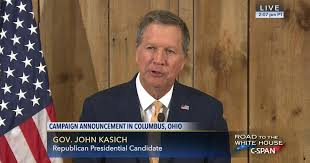 Governor John Kasich Presidential Campaign Suspension