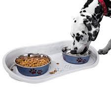 Pet Supplies : PETMAKER <b>Non Skid Pet Bowl</b> Tray : Amazon.com