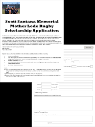 scholarship application form click here to fill out the scholarship application form