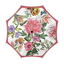 "<b>Michel Design Works</b> Travel Umbrella 38"" Diameter, <b>Peony</b>   Travel ..."