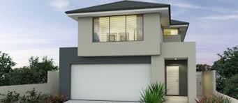 Narrow Lot Double Storey House Designs Perth   APG Homesview home design  middot  apg Homes   Lifestyle range   Indigo m elevation