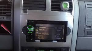 2005 dodge durango avh p2400bt custom install