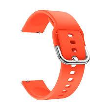 <b>Универсальный силиконовый ремешок для</b> часов 22 mm ...