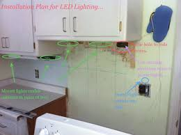 led plan cabinet lighting diy