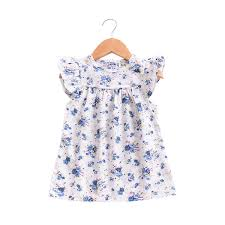 2019 Mother Nest 2018 <b>Summer New Girls</b> Flower <b>Puff</b> Sleeves ...