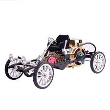 <b>Teching</b> Car Model <b>Single Cylinder Engine</b> Aluminum Alloy Model ...