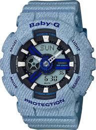 <b>Casio</b> Baby-G Denim's Color <b>BA</b>-<b>110DE</b>-<b>2A2</b> - купить <b>часы</b> по цене ...